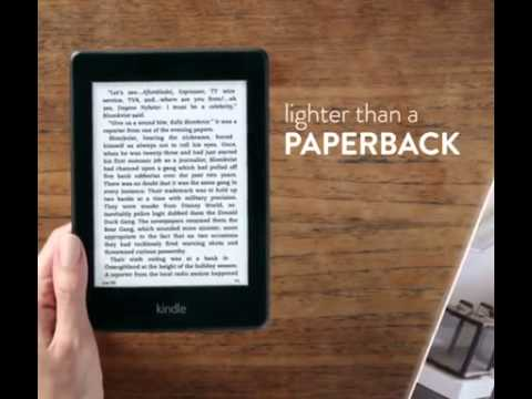 Kindle Paperwhite - Kindle Paperwhite Review 2015