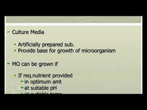 PREPARATION OF COMMON CULTURE MEDIA.
