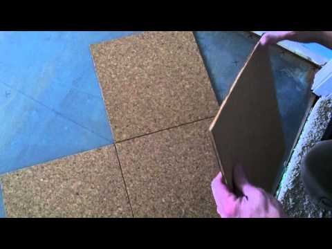 Cork Floor Install - How to install a cork glue down floor.