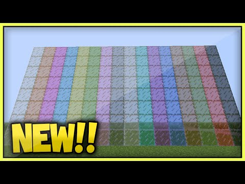 (NEW!) MINECRAFT STAINED GLASS CONFIRMED AGAIN! For TU25/TU26