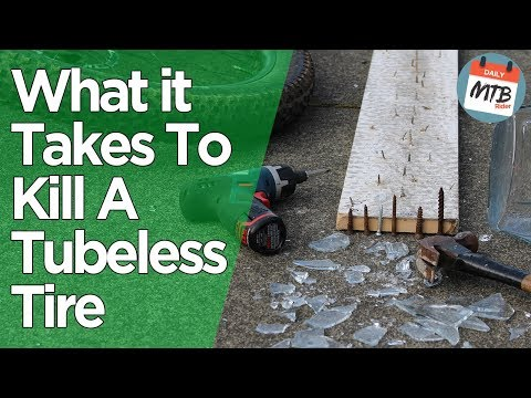 Part 2 - The Ultimate Tubeless Tire Torture Test - What it Actually Takes to Flat A Tubeless Tire!