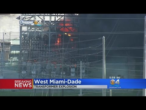 Thousands Without Power After Fire At FPL Plant