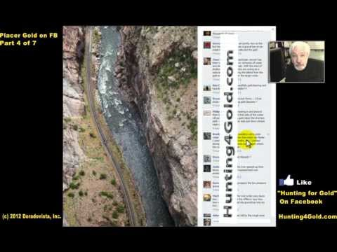 Placer Gold Prospecting in Streams on FB 4-of-7