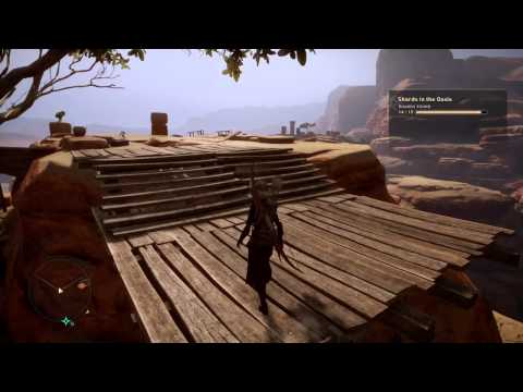 Dragon Age™: Inquisition Forbidden Oasis Shard above Intrinsic Pool Camp