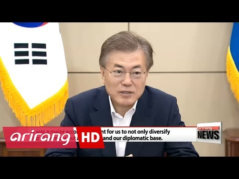 President Moon highlights importance of Russia, ASEAN, EU