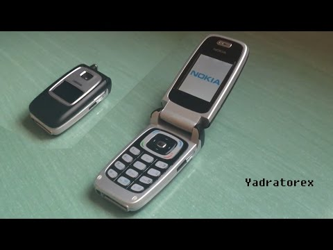 Nokia 6103 retro review (old ringtones, wallpapers & games)