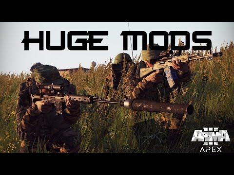 5 HUGE MODS For Arma 3 - PlayItHub Largest Videos Hub