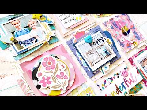 National Scrapbook Day 2018 - Live, Love, Layout Challenge with Paige Evans
