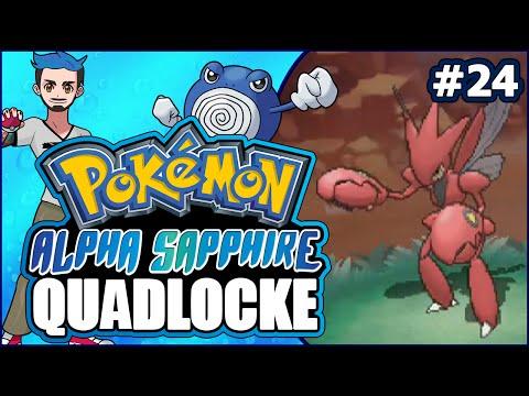 Pokémon AlphaSapphire Randomizer Quadlocke Part 24 | I GUESS WE COULD JUST SCIZOR