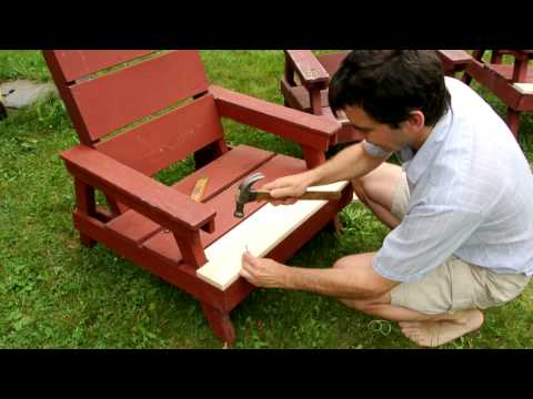 Repairing lawn chairs / wood rot