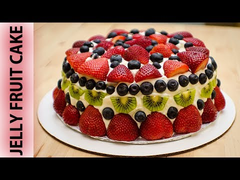 जेली फ्रूट केक - Jelly Fruit Cake - Recipe || ISKCON Desire Tree - Recipes