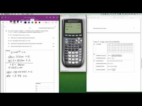 IB Maths Studies May 2015 Time Zone 1 Paper 1 Question 12