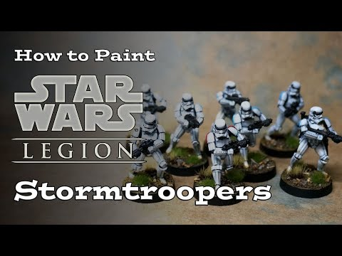 How to Paint Star Wars Legion Stormtroopers