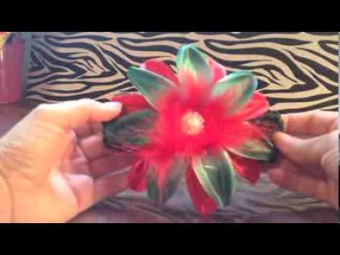 How to make a Christmas Headband for baby girls