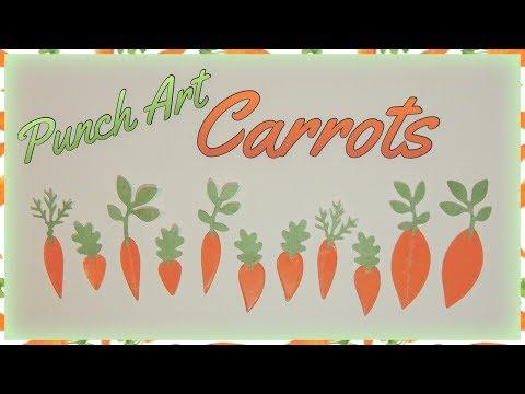 Punch Art Carrots