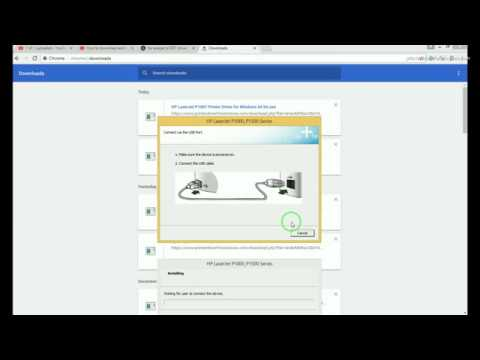 How to install HP LaserJet P1007 driver Windows 10, 8, 8.1, 7, Vista, XP