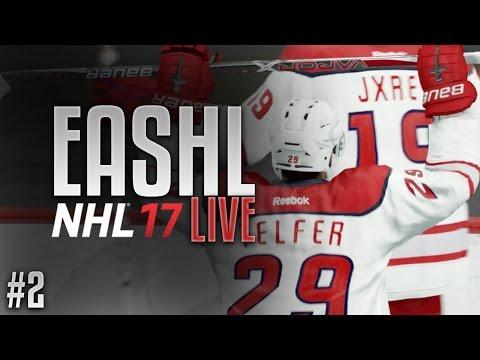 NHL 17 | WE'RE BACK!!! (EASHL Live #2)