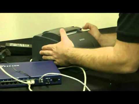 2TouchPOS Epson TM-U220B Ethernet  Kitchen Printer