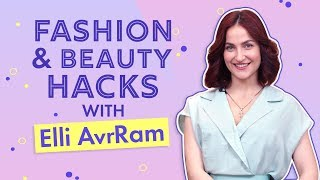 Elli AvrRam reveals her beauty and makeup hacks | Pinkvilla | Fashion