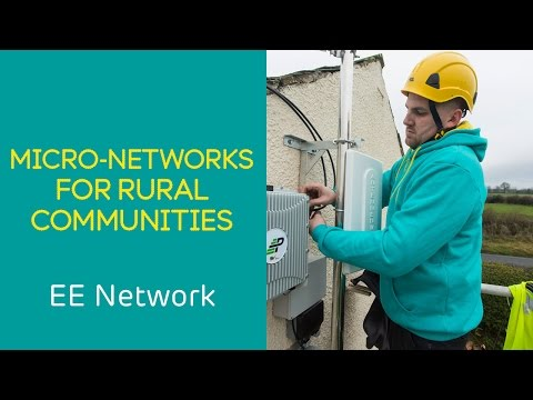 EE 4G Network: EE's micro network mobile technology for rural communities