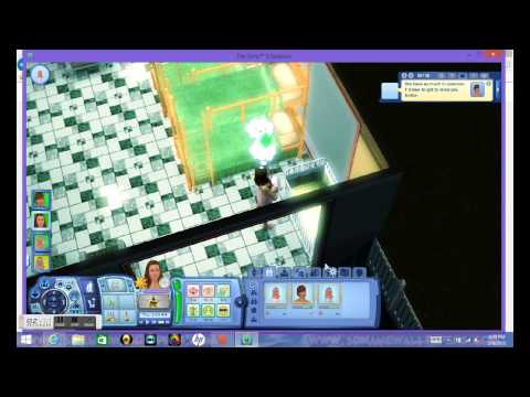 sims 3 ( how to throw a birthday party)