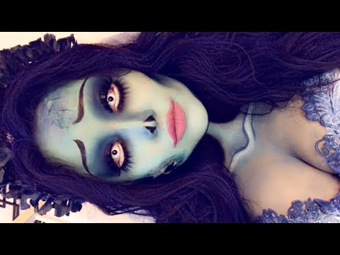 CORPSE BRIDE EMILY MAKEUP TUTORIAL | STEPHANY FLAMENCO