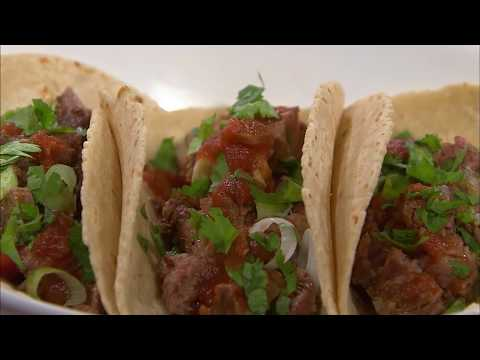 Tailgating with Beef Brisket Tacos