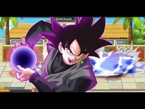Dragon Ball Z Online (Fight against Saiyan Warriors Stage 1) Nappa
