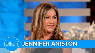 Jennifer Aniston Gets Emotional Over Ellen's Final Season