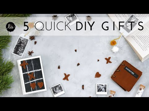 5 Handmade Holiday Gifts - Special Occasion - DIY Stocking Stuffers!