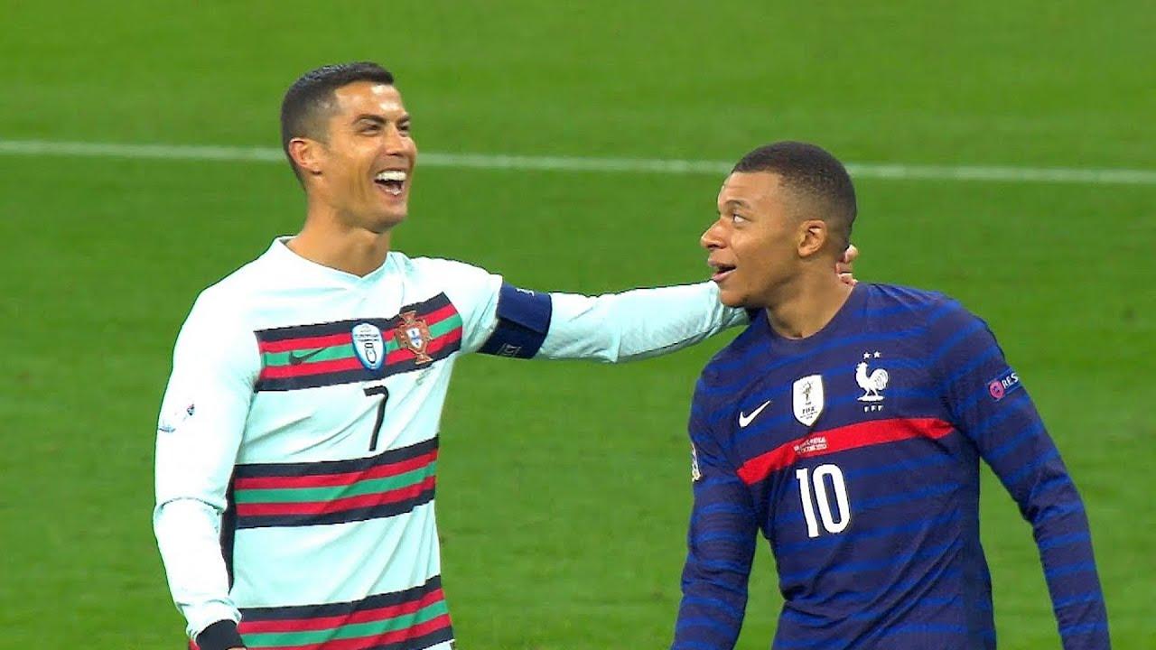 When Football Players Meet Their Idols