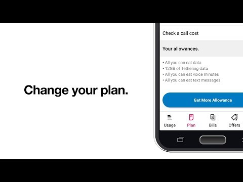 How to change your phone plan | Updating your tariff; more allowance | Support on Three (2018)