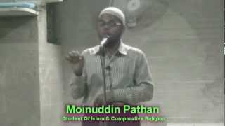 Fitna-e-Dajjal Urdu Lecture By Moinuddin Pathan
