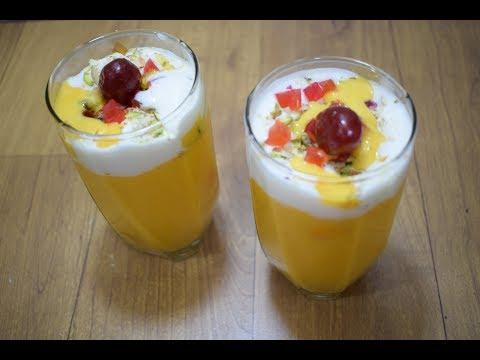 मँगो मस्तानी   Mango Mastani   Mango Shake Mastani   Mango Mastani Pune Style   Mango milkshake