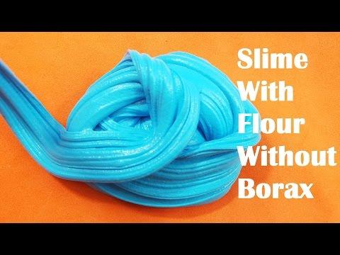 How to Make Slime with Flour No Borax! Testing 2 DIY Flour Slime No Borax Recipes!