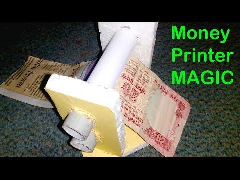 How To Make A Money Printer Machine  | At Home | DIY