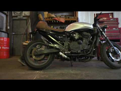 How To Build a Cafe Racer ep. 1 || Bike & Design