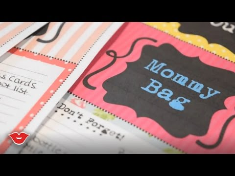 DIY Bag Tags! Organization Hacks! | Tay from Millennial Moms