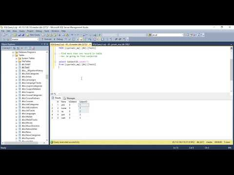 Finding duplicate values in a SQL table