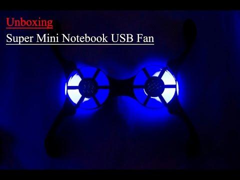 Super Mini Notebook USB Fan