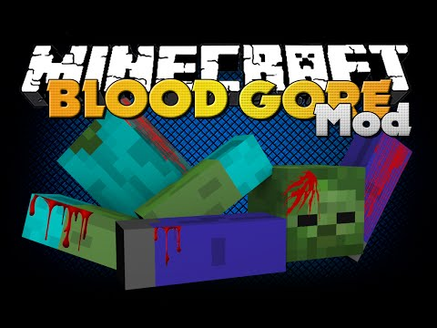 Download Minecraft - BLOOD AND GORE MOD - NEW AESTHETICS