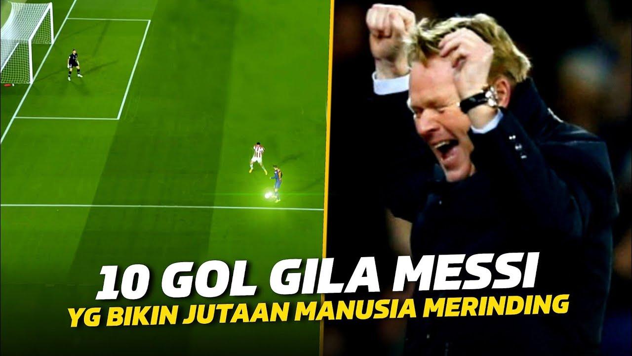 MANUSIA SEPARUH ALIEN 😱 10 Gol KELAS DUNIA Lionel Messi Dalam Sejarah Barcelona Yang Sulit Dilupakan