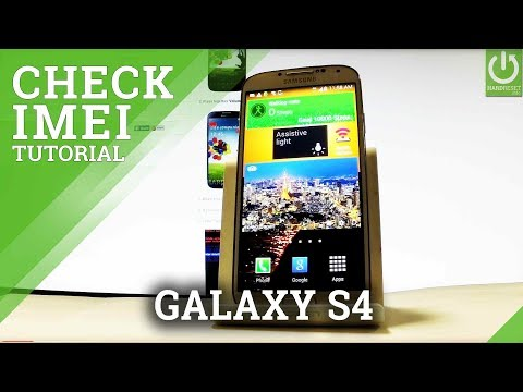 IMEI Number in SAMSUNG Galaxy S4 - IMEI Info / Serial Number