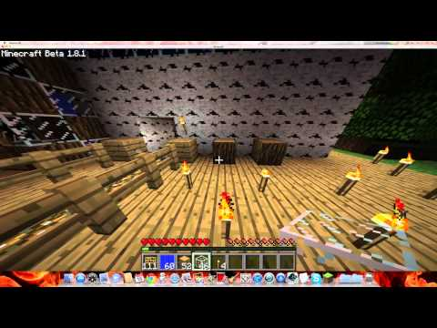 How to make a simple water lift Minecraft