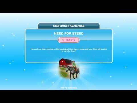 Cara Menyelesaikan Need For Steed Quest di The Sims FreePlay [Bahasa Indonesia]