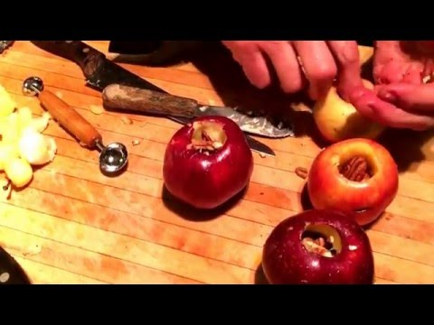 Baked Apples Recipe Pecan Raisin, No Added Sugar | Gingerbread Cottage
