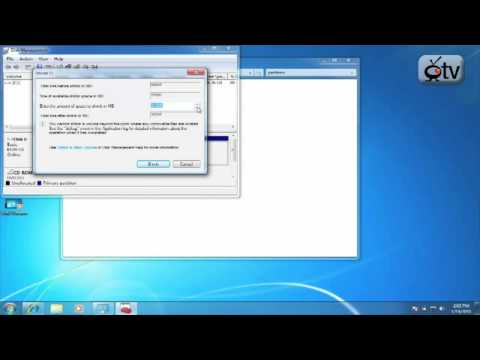 Windows 7 How To: Resize a Partition