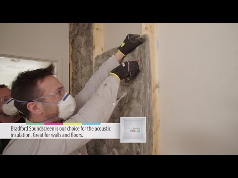 Installing SoundScreen acoustic insulation in your internal walls - Healthy Homes TV Australia