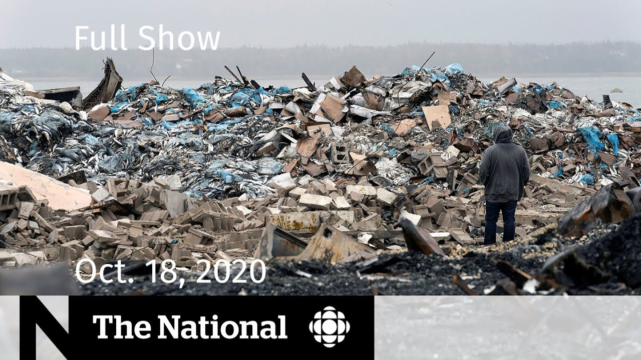 CBC News: The National | Dangerous escalation in N.S. lobster fishery dispute | Oct. 18, 2020