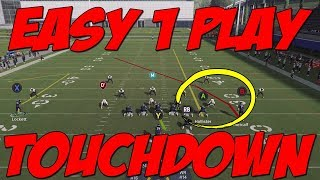 New 1 Play Touchdown!! Oakland Raiders Playbook! Madden 20 Tips